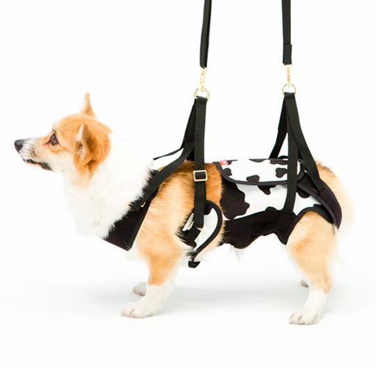 歩行補助ハーネスLaLaWalk中型犬・コーギー用[COW]