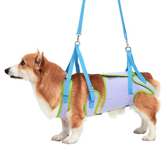 歩行補助ハーネスLaLaWalk中型犬・コーギー用[ドリーム]
